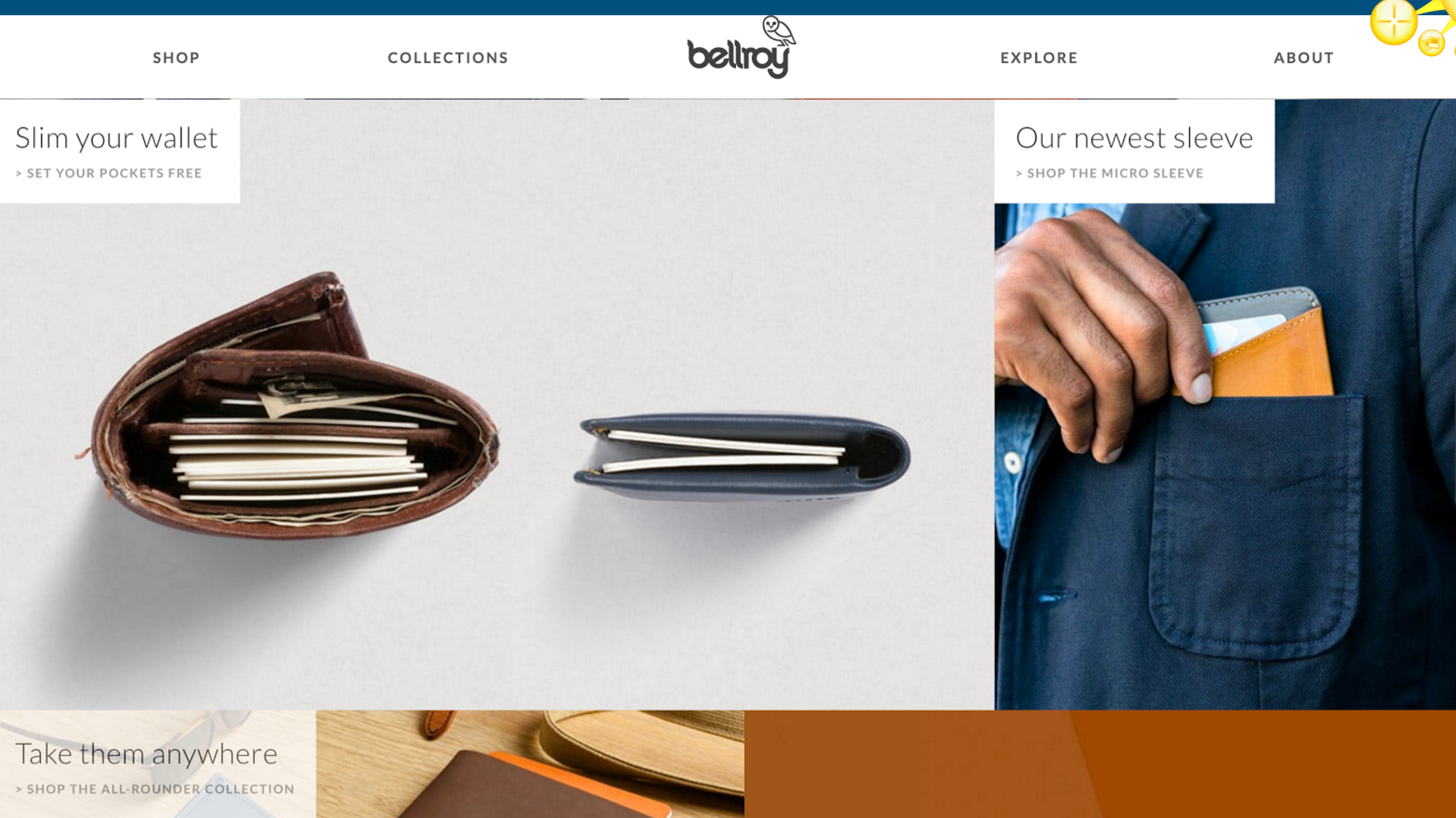 Bellroy wallets