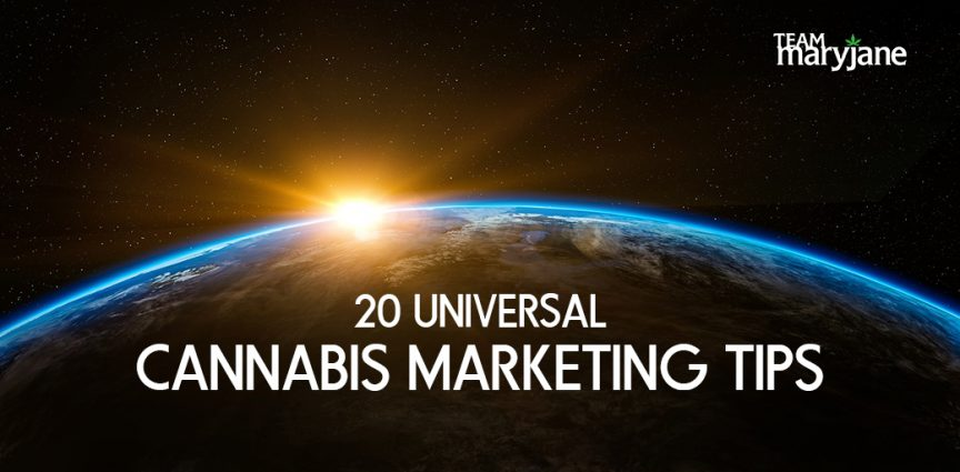 20 Universal Tips to Make Your Cannabis Marketing Plan Shine in 2018