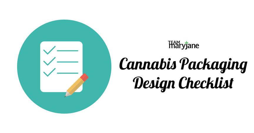 Cannabis packaging design checklist